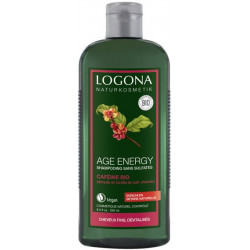 Shampooing Age Energy Caféine baies de Goji 250ml - Logona