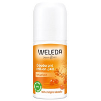 Weleda Déodorant roll-on 24h Argousier 50ml - deodorant bgio - cosmetique bio Aromatic provence
