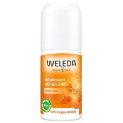 Déodorant roll on 24h Argousier 50ml - Weleda