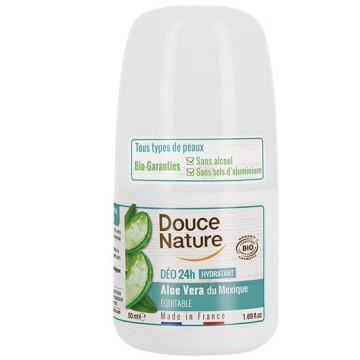 Déodorant à billes peaux sensibles 50ml - Douce Nature