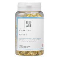 Huile de Bourrache bio 120 capsules - Belle et bio acide gamma linolénique Aromatic Provence