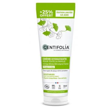 Crème hydratante pour toute la famille Ginkgo Biloba 100 ml - Centifolia