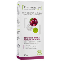 Soin complet intensive triple action anti âge 50ml Dermaclay