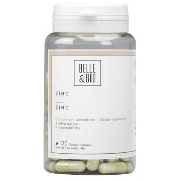 Zinc oligo-élément 120 gélules Belle et bio