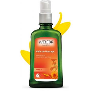 Huile de Massage à l'Arnica 100 ml avec pompe spray - Weleda