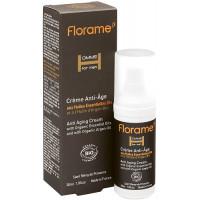 Crème anti-âge bio Homme 30 ml - Florame soin visage bio aromatic provence