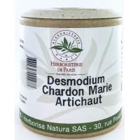 Desmodium Chardon marie Curcuma Artichaut 200 gélules - Herboristerie de Paris DCCA Aromatic Provence