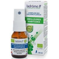 Complexe d'élixirs floraux Meilleures Habitudes 20 ml- Ladrôme