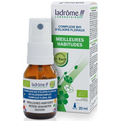 Complexe d'élixirs floraux MEILLEURES HABITUDES 20 ml - Ladrôme