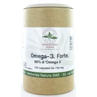 Omega 3 forte 65% 120 capsules de 705 mg - Herboristerie de paris EPA DHA Aromatic Provence