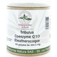 Tribulus Coenzyme Q10 Eleuthérocoque 60 Gélules - Herboristerie de paris virilité homme Aromatic Provence