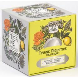 Tisane be cube Digestive bio 24 sachets recharge carton - Provence d'Antan