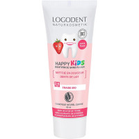 dentifrice gel dentaire Kid à la fraise Logona,dentifrice gel dentaire Kid Logona logona, aromatic provence,