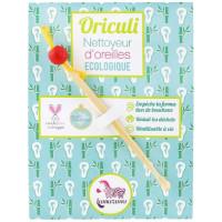 L'Oriculi Nettoyeur d'oreilles écologique en bambou coloris aléatoires - Lamazuna Aromatic Provence