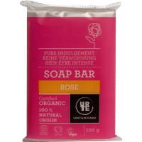Savon à la Rose 100 gr - Urtekram, savon bio anti-âge, hygiène bio, aromatic Provence