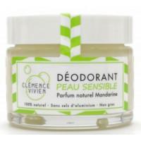 Baume déodorant Peau sensible à la Mandarine 50gr clémence et vivien déodorant naturel Aromatic provence