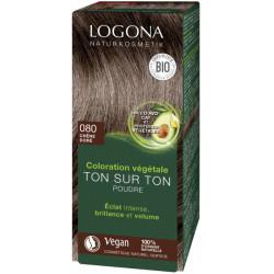 Coloration végétale Ton sur Ton poudre Chêne doré 080 100gr - Logona
