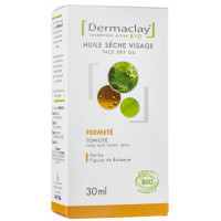 Huile sèche Visage Fermeté Perilla - Figuier de Barbarie 30ml - Dermaclay - Soins anti-Age bio / Peau mâture Aromatic provence