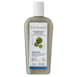 Shampooing Bio Capilargil Bio Pellicules 250ml Dermaclay