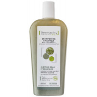 Shampooing bio cheveux gras et pellicules Argile Verte 400ml - Dermaclay,   Shampoings bio cheveux gras,  Aromatic Provence