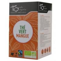 thé vert à la mangue 24 infusettes Touch Organic,thé vert à la mangue 24 infusettes, Touch Organic, aromatic provence,