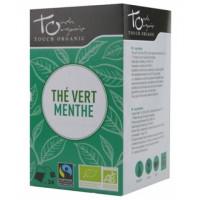thé vert à la menthe 24 infusettes Touch Organic,thé vert à la menthe 24 infusettes, Touch Organic, aromatic provence