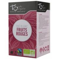 Thé Blanc bio aux fruits rouges -Touch Organic,   Thés bio,  Tisanes bio, Thés bio Aromatic Provence