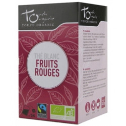 Thé Blanc bio aux fruits rouges 24 sachets  -Touch Organic