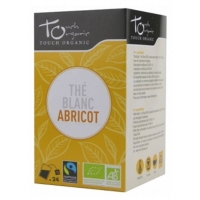Thé Blanc bio à l'abricot -Touch Organic,   Thés bio,  Tisanes bio, Thés bio Aromatic Provence