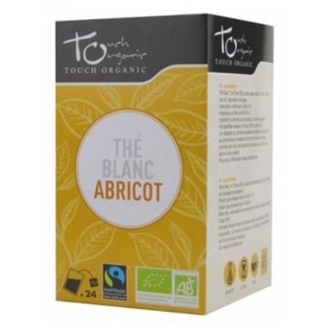 Thé Blanc bio à l'abricot 24 sachets -Touch Organic
