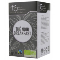 Thé Noir breakfast bio 24 infusettes -Touch Organic Aromatic Provence