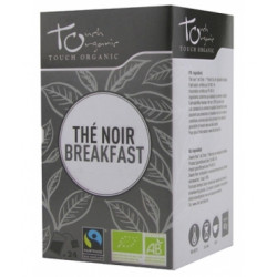 Thé Noir breakfast bio 24 sachets -Touch Organic