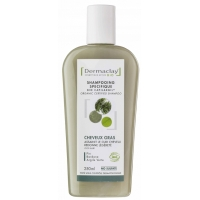 Shampooing traitant Cheveux gras 250 ml - Dermaclay -  capilargil - Aromatic provence