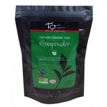 Thé vert Gunpowder bio vrac 100g - Touch Organic