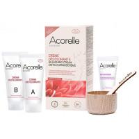 Crème Décolorante Visage et Corps 3X30 ml - Acorelle crèmes A, B et soin apaisant Aromatic Provence