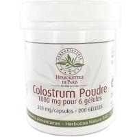 Colostrum Poudre 200 Gélules - Herboristerie de Paris immuinité Aromatic Provence