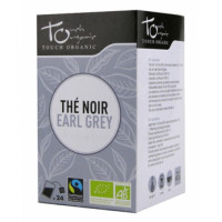 Thé noir Earl Grey bio 24 sachets - Touch Organic bergamote Aromatic Provence