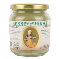 Coloration végétale Châtain Clair 150 gr - Henné de Shiraz Beliflor Aromatic Provence