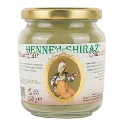 Coloration végétale Châtain Clair 150 gr - Henné de Shiraz Beliflor