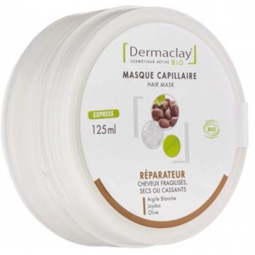 Masque Capillaire réparateur cheveux secs 125ml - Dermaclay