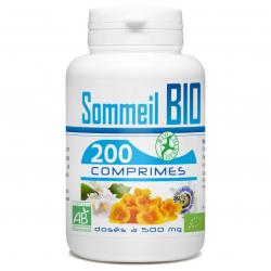 Sommeil bio 500mg 200 comprimés - GPH Diffusion