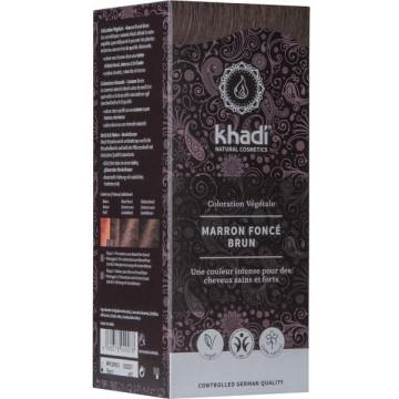Coloration végétale Marron Foncé 100 gr - Khadi
