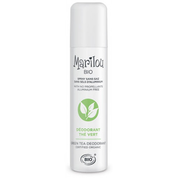 Déodorant spray au Thé vert 75 ml - Marilou Bio