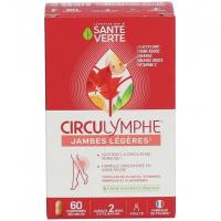 Circulymphe 60 comprimés - Santé Verte jambes légères Aromatic Provence