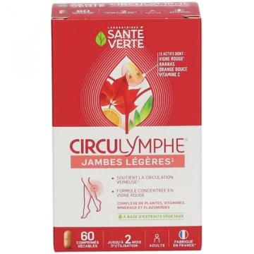 Circulymphe 60 comprimés - Santé Verte