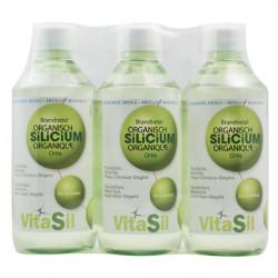 Silicium Organique Pack Promo Lot de 3 x 500ml - Vitasil