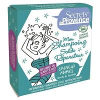 Mon shampoing solide réparateur pour Cheveux Abîmés et Ternes 85 gr - Secrets de Provence Aromatic Provence