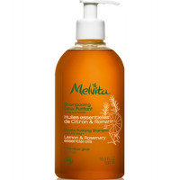 Shampooing doux purifiant 500ml - Melvita cheveux gras Aromatic Provence