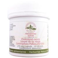 Levure de riz rouge Commiphora Policosanol Q10 60 gélules - Cholesterol Excess Herboristerie de paris