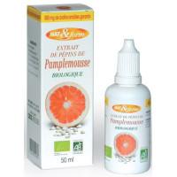 Extrait de pépins de pamplemousse 800mg 50 ml - Nat et Form bioflavonoides Aromatic Provence